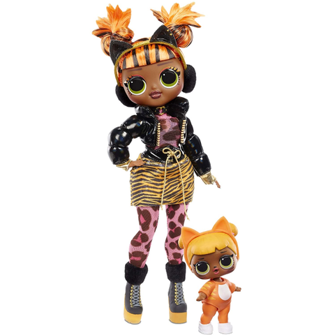Winter Chill Missy Meow Fashion Doll & Baby Cat Doll with 25 Surprises