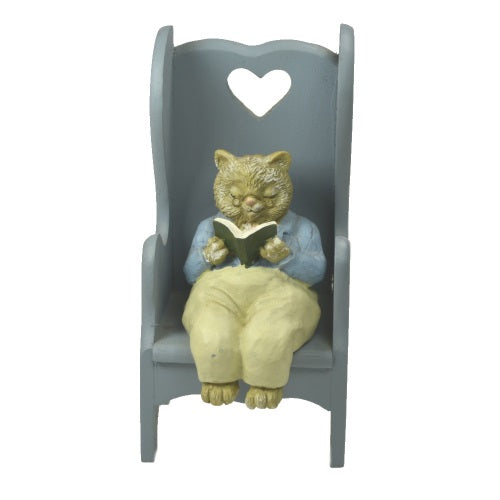 Figurine | Cats of Canterbury Figurines Grandma and Grandpa Sitting in Chairs