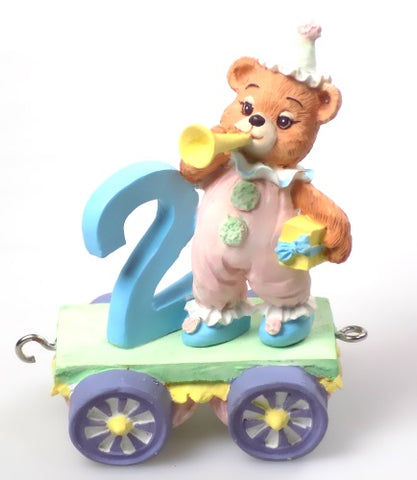 Collectibles | Cherished Teddies Figurine Age 2 Train