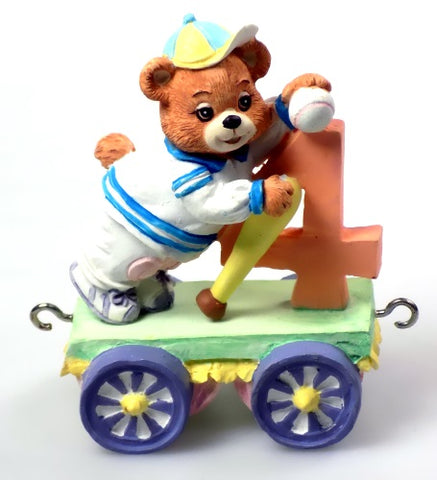 Collectibles | Cherished Teddies Figurine Age 4 Train