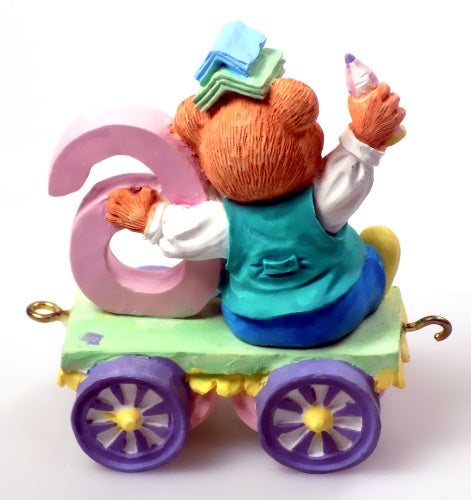 Collectibles | Cherished Teddies Figurine Age 6 Train