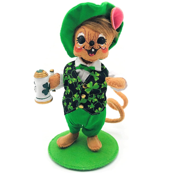 Annalee Dolls Chipper The Irish Lad Mouse