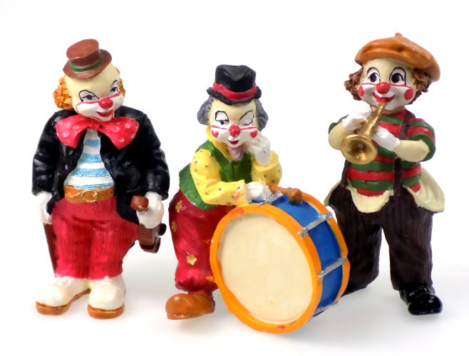 Collectibles | Clown Band Figurines