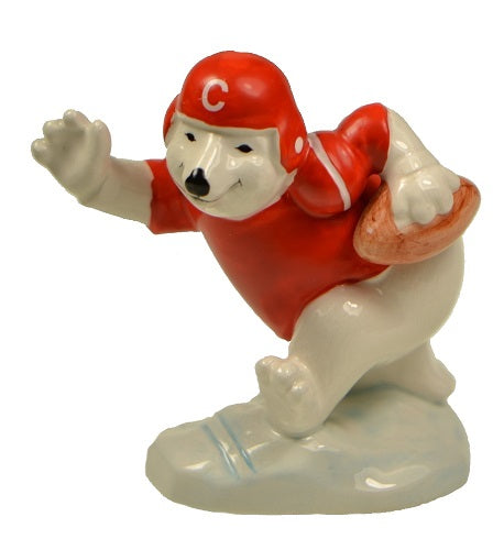 Whimsical Bears | Coca Cola Football Bear Figurine