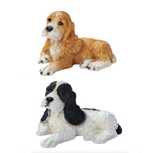 Figurines | Dog Sculpture Cocker Spaniel Dog Figurines