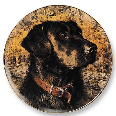 Collector Plates | Cody Black Lab