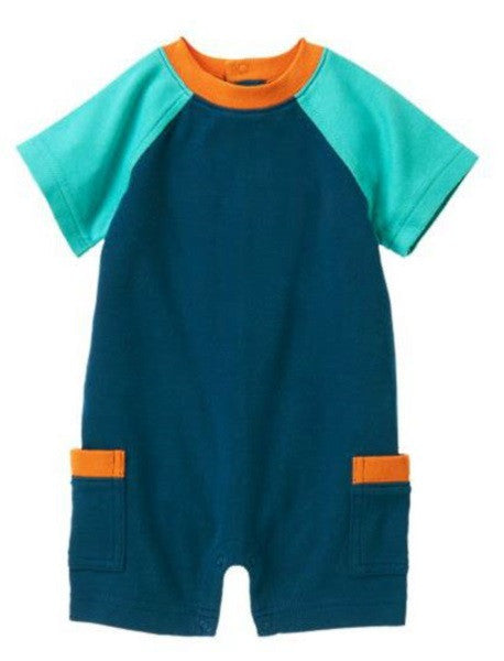Baby Clothes | Gymboree Marine Blue One-Piece For Baby Boy 0-3 Months