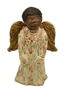 Figurines | Collectibles Black Angel Child with w/ Hands in Pocket Figurine