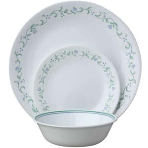 Kitchen | Corelle Service for 6, Chip Resistant, Country Cottage Dinner Plates, 18-Piece