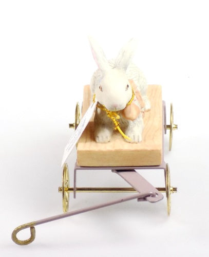 Figurines | Jan Hagara Crista's Wagon Porcelain Figurine