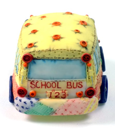 Collectibles | Cute As A Button Teacher and School Bus by Enesco Figurines