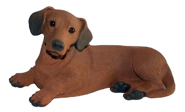 Figurines | Dog Sculpture Dachshund Dog Statue
