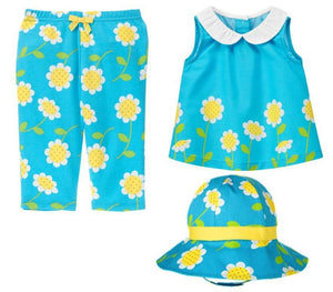 Baby Clothes | Gymboree Baby Girl Daisy Bow Set 0-3 Months