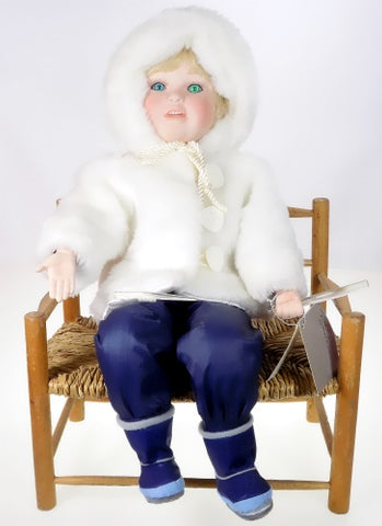Danbury Mint Dolls Winter Wonderland Doll available at One Great Shop