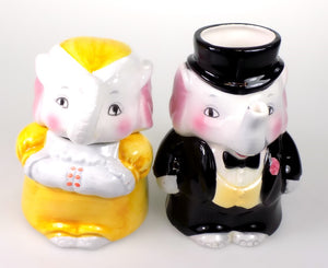 Home Decor | Elephants Sugar and Creamer Set