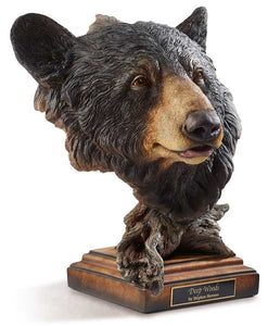 Mill Creek Bear Sculptures Black Bear Sculpture Figurine
