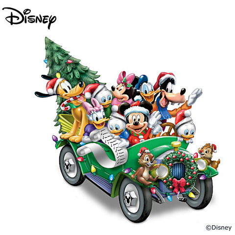 Figurines | Disney Friends Once Upon A Holiday Sculpture