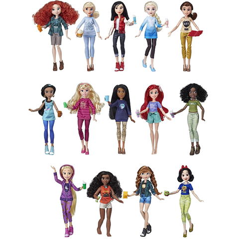 Disney Princess Ralph Breaks The Internet Movie Dolls 14 Dolls