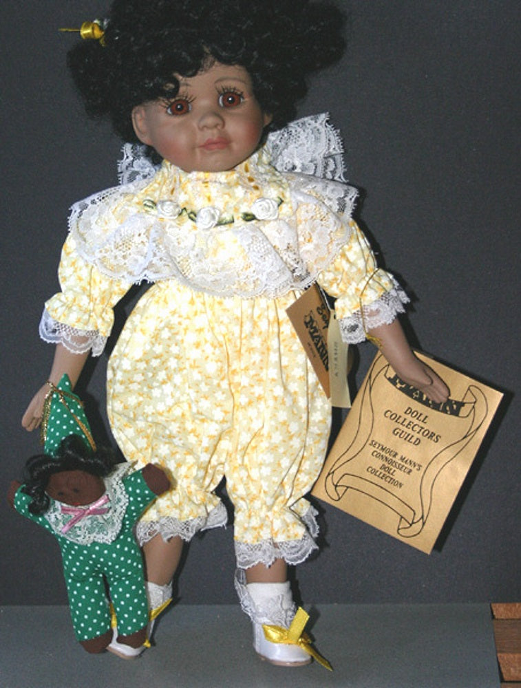 Dolls | Seymour Mann Collectible African American Doll Shaka
