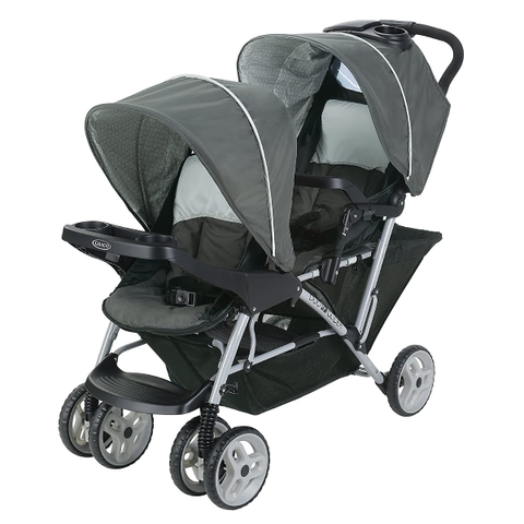 Baby Furniture |  Lightweight Double Stroller with Tandem Seating