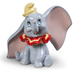 LLADRÓ Dumbo Figurine Porcelain Disney Dumbo Figure