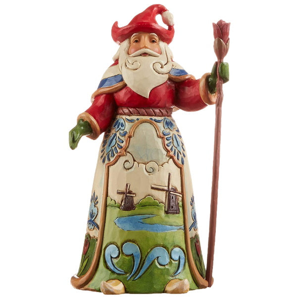 Home Decor | Dutch Santa Figurine by Jim Shore