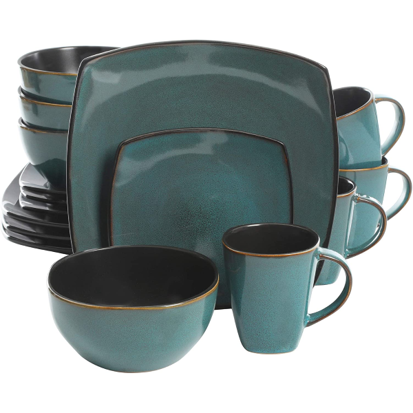 Kitchen |  Elite Soho Lounge 16 Piece Dinnerware Set