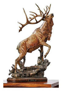 Wild Life | Elk Sculpture by Stephen Herrero