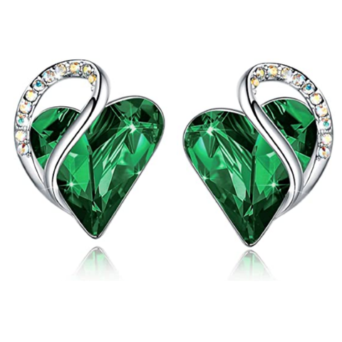 Jewelry | Emerald Green Earrings May Birthstone