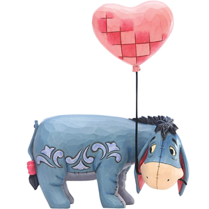 Figurine | Enesco Disney by Jim Shore Winnie The Pooh Eeyore with Heart Balloon Figurine