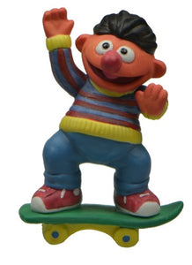 Collectibles | Sesame Street Ernie On Skate Board Figurine