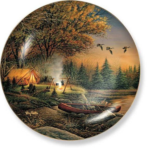 Collector Plates | Evening Solitude Collector Plate by Terry Redlin