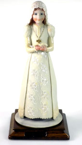 Figurines | First Communion Girl Capodimonte Dear Sculpture