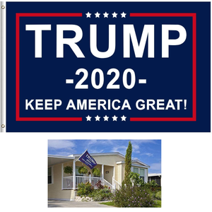 Donald Trump 2020 Keep America Great Flag Banner 3x5 Feet with Brass Grommets
