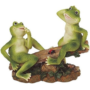 Figurines | Frogs on Seesaw Figurine