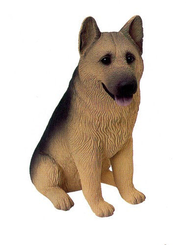 Figurines | Dog Sculpture Tan German Shepherd Gifts and Collectibles