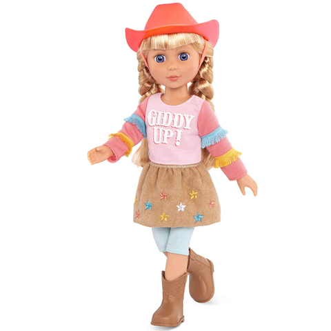 Glitter Girls Dolls by Battat Poseable Doll Floe with Horseback Riding Outfit