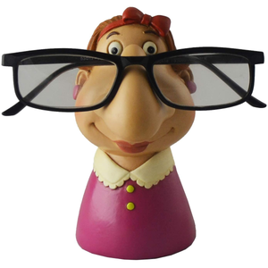 Grandma Eyeglass Holder, Funny Figurine