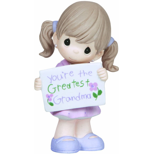 Precious Moments You're The Greatest Grandma Bisque Porcelain Figurine