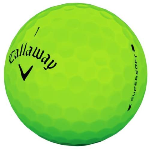 Golf Equipment | Callaway Golf Supersoft Golf Balls
