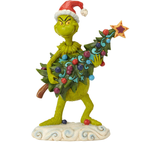 Holiday | Dr. Seuss The Grinch by Jim Shore Stealing Christmas Tree Figurine