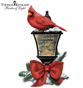 Hamilton Collection | Thomas Kinkade Cardinals and Lantern