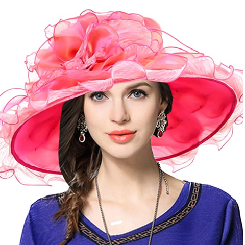 Kentucky Derby Hats | Women's Derby Bridal Cap British Tea Party Wedding Hat