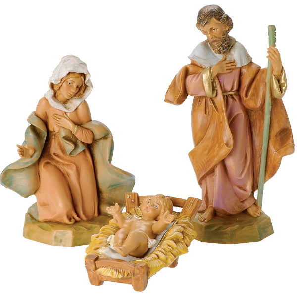 Fontanini by Roman Classic Holy Family Nativity Set, 3-Piece