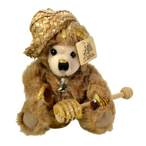 Plush | J. R. Honey Bear Teddy Bear