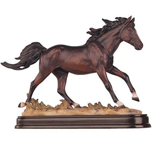 Brown Horse Figurine