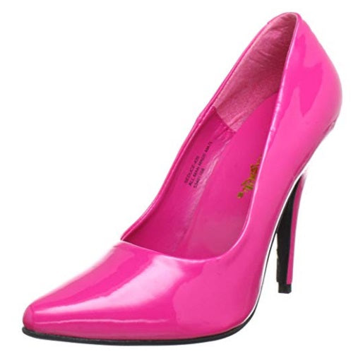 Sexy Shoes Women's Hot Pink Pump Heels