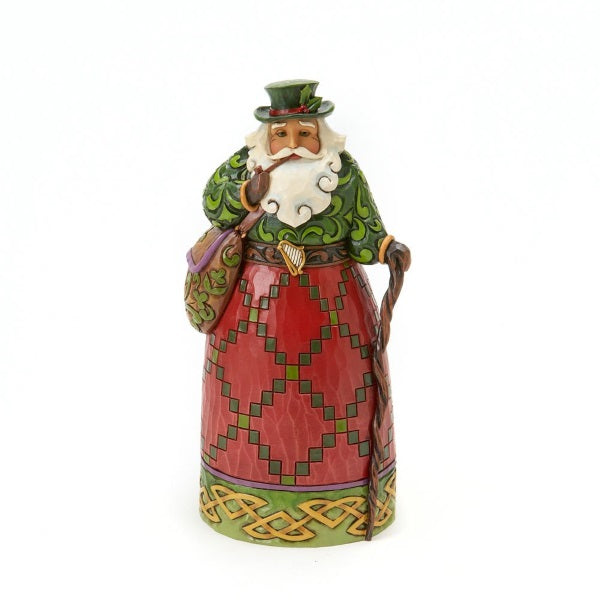 Holiday | Jim Shore Heartwood Creek Irish Santa Figurine