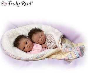 Dolls | Twin Baby Doll Set Ashton Drake Baby Doll