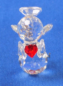 Crystal | July Ruby Birthstone Angel Ornament